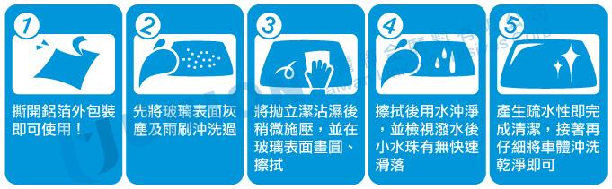 汽車玻璃拋光除油膜防潑水性改善雨刷跳動